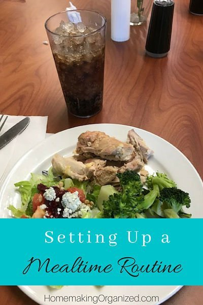 Setting up a Mealtime Routine