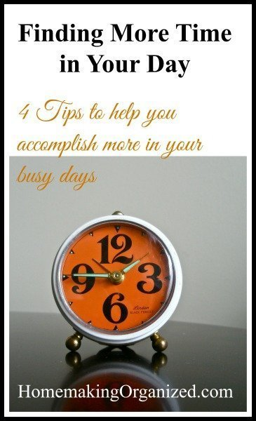 Finding More Time in Your Day