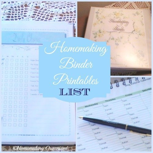 homemaking-binder-printables