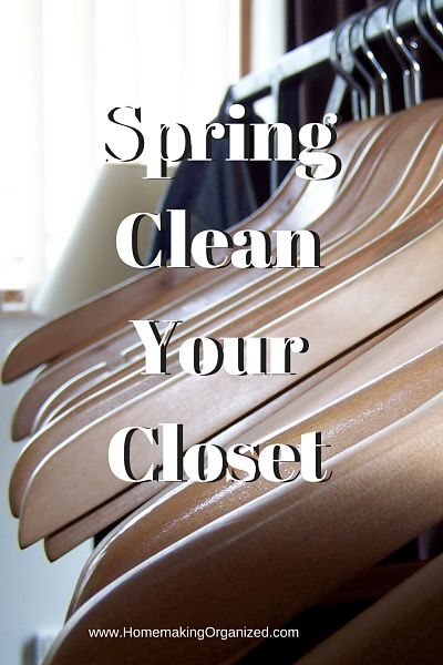 Spring CleanYour Closet