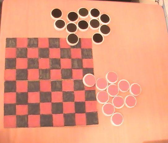 checkers-board