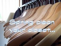 Spring Cleaning the Clothes in Your Closet