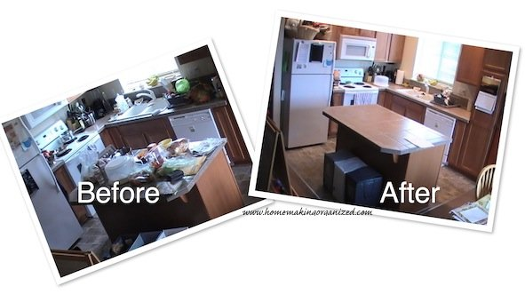 Keep a Clean Kitchen in 15 Minutes