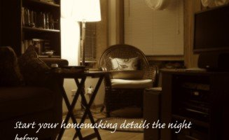 homemaking-night-before