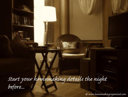 homemaking-night-before