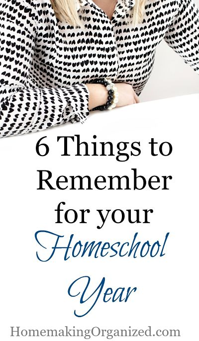 6 Things You Don't Want to Forget While Preparing for Your Homeschool Year