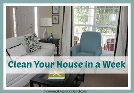 Clean Your House in a Week