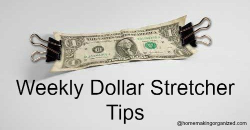 Dollar Stretcher Tips for January 2, 2017