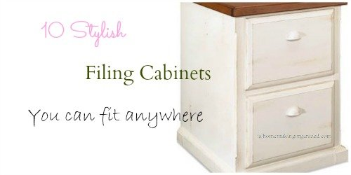 10 Stylish Filing Cabinets To Add To Any Room In Your Home
