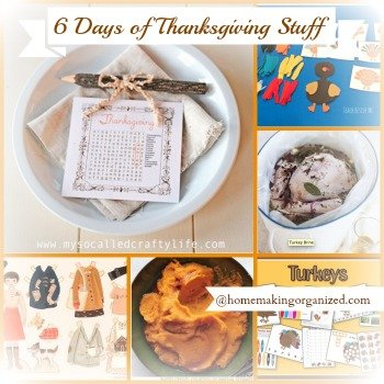 6 Days of Thanksgiving : Day 1 Thanksgiving  Learning Printables