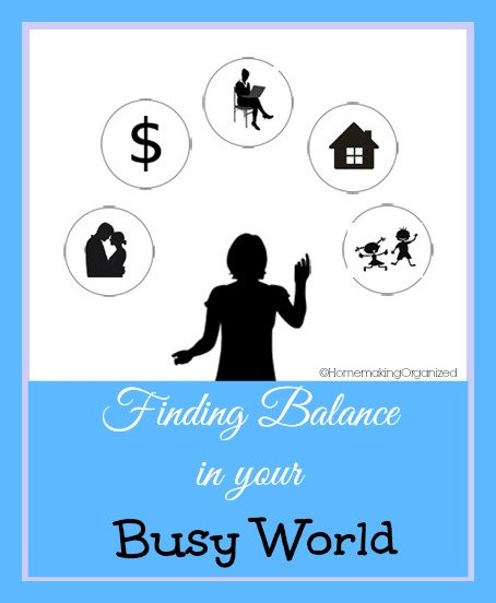 Finding Balance in Your Busy World