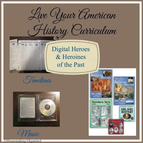 unit study American history
