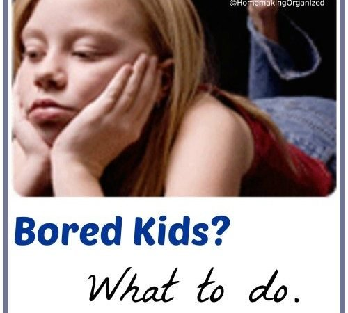B is for Boredom…..