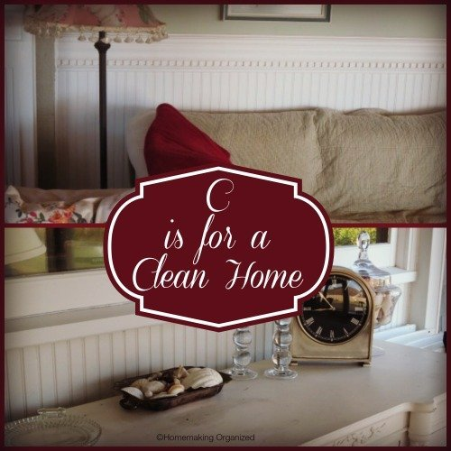 C is for a Clean Home