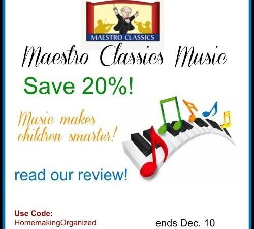 Save 20% on Maestro Classics Music CDs and Downloads!