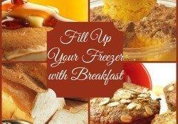 baking breakfast for the freezer