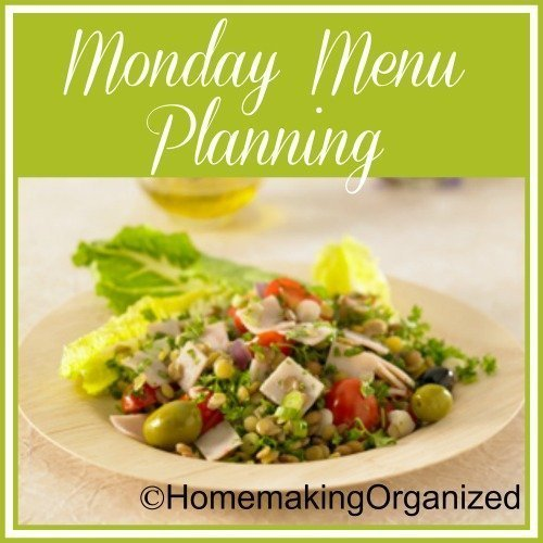 The Coming Week Including Our Menu Plan for Monday May 30, 2016