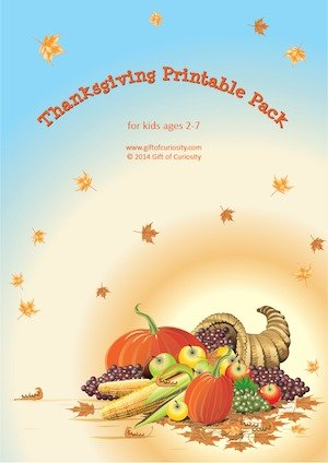 Thanksgiving Printable at Gift of Curiosity