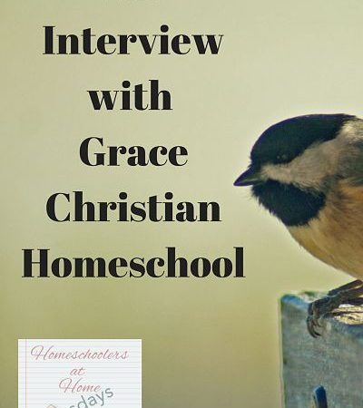 Melissa Langley at Grace Christian Homeschool – Homeschoolers at Home