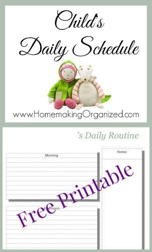 childs-daily-schedule
