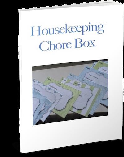 Housekeeping Chore Box