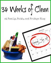 34 Weeks of Clean