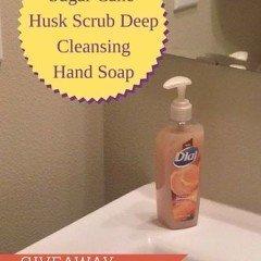 Sugar Cane Husk Scrub Deep CleansingHand