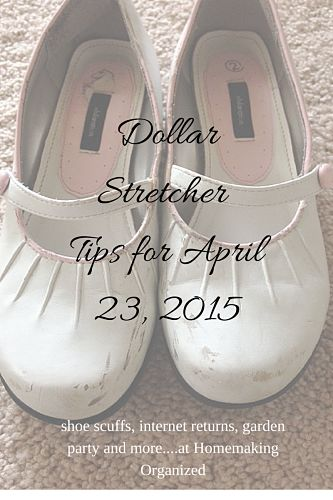 Dollar Stretcher Tips for April 23, 2015