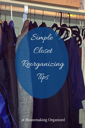 Reorganizing Room: Tidying Up My Own Master Bedroom Closet And Simple Closet