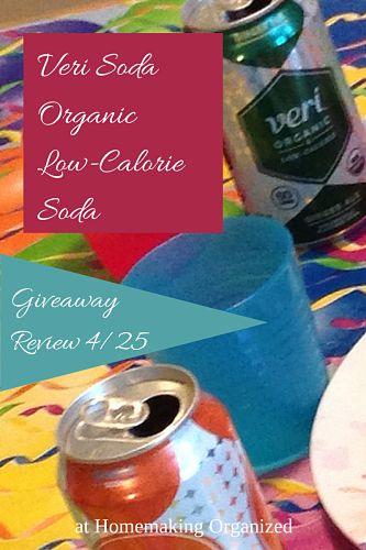 Veri Soda Healthy Pop Review