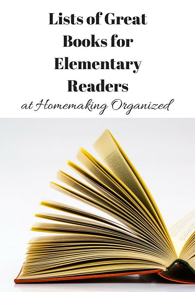 Lists of Great Books for Elementary