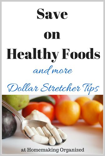 Save on Healthy Foods