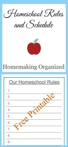 Homeschool-Rules-Schedule-Printable