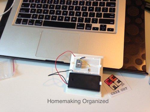 EEME Project Genius Light STEM Project {Homeschool Review}