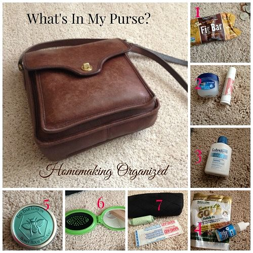 What's In My Purse?  – July Blogging Challenge Day 7