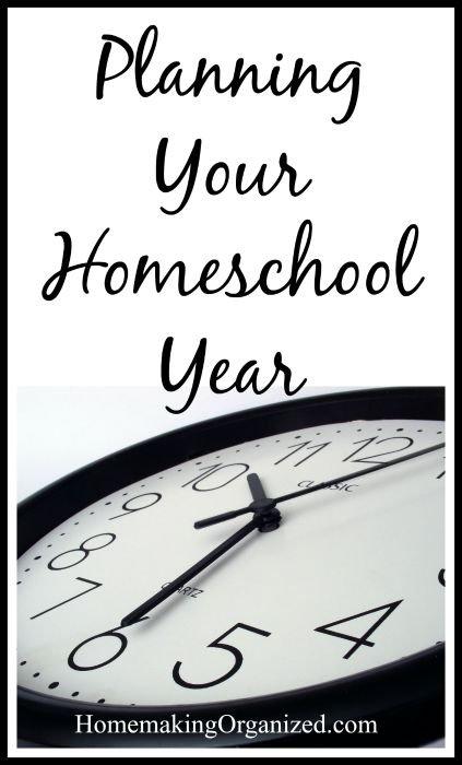 planning-homeschool-year