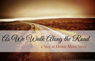 As We Walk Along the Road – A SAHM Story