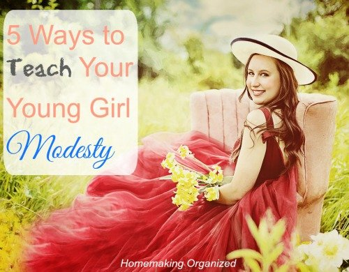 5 Ways to Teach Your Young Girl Modesty