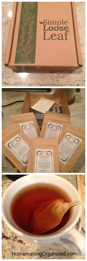 Simple Loose Leaf Tea Monthly Subscription for Tea Lovers