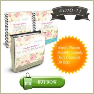 2016 Weekly Homemaker's Planner Bundle