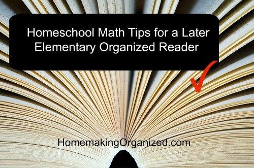 homeschool-math-tips-organized-reader