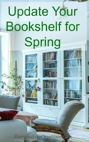 Home Decor: Update Your Bookshelves for Spring