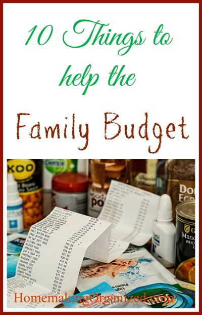 10 Things You Can Do to Boost Your Family's Budget