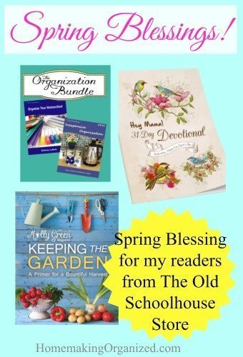Spring Blessing from The Old Schoolhouse Store FREE