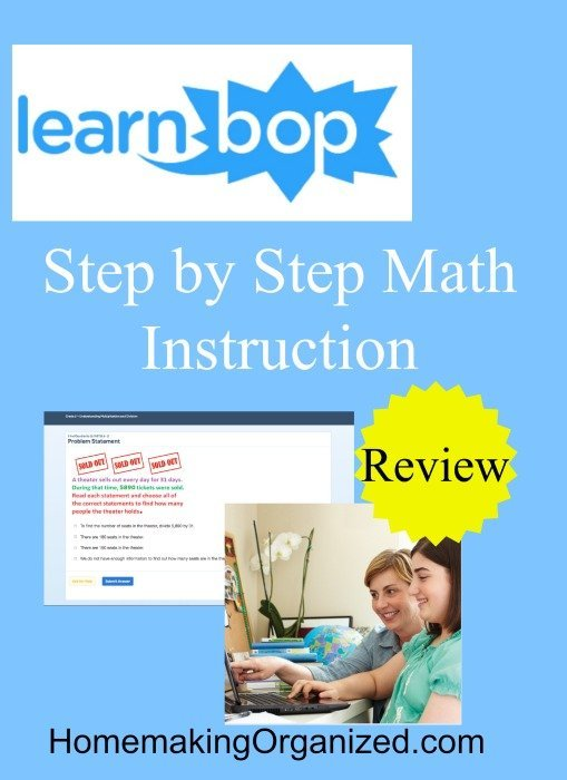 LearnBop has a great new way to practice math with their LearnBop for Families subscription!