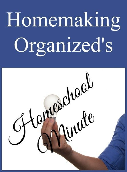 Sale and Scheduling Help: Homeschool Minute for Friday July 15, 2916