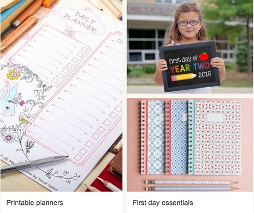 A Unique Back to School with Etsy