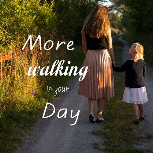 How to Add More Walking into Your Day