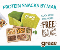 Sample Some Protein Snacks by Mail : Graze