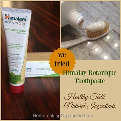 Himalaya Botanique Complete Care Toothpaste a MomsMeet Review